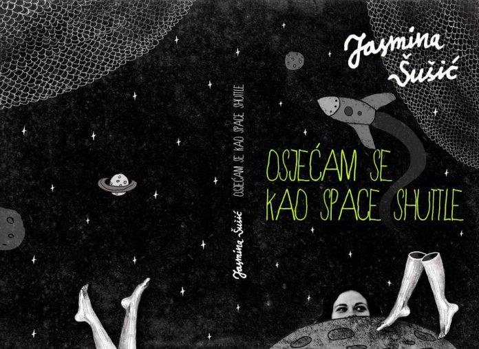 """Jasminina druga knjiga """"osjećam se kao space shuttle"""" konceptualno je izašla u samo 3 primjerka"""