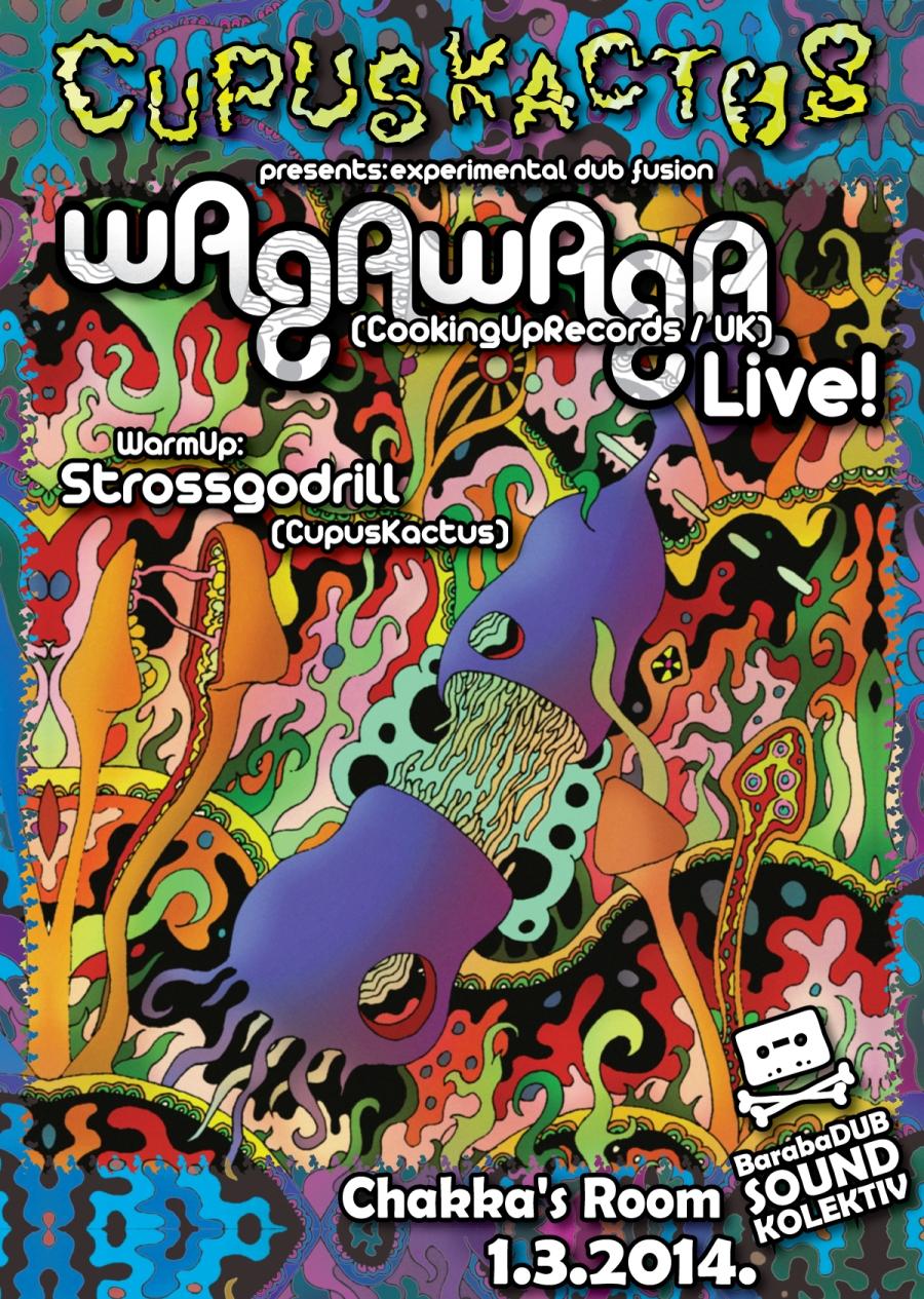 Wagawaga je bristolski mađijoničar koji kombinira zvuke duba sa zvukovima ritualne, plemenske glazbe